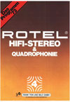 Rotel HiFi Stereo and Quadrophonie