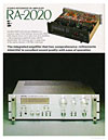 rotel the 2000 series 1978 integrated amplifiers