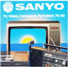 Sanyo TV Video Compacts Portables