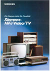 Siemens HiFi Video TV