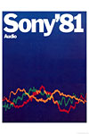 sony audio 1981 cover