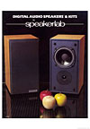 speakerlab digital audio speakers cover