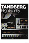 tandberg high fidelity cover