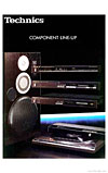 technics component line up cover
